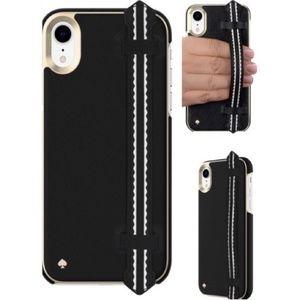BNIB Kate Spade Wrap Strap Saffiano Case iPhone XR